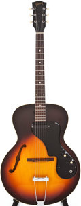 Musical Instruments:Electric Guitars, 1967 Gibson ES-120T Sunburst Archtop Electric Guitar, #065397....