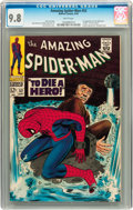 Silver Age (1956-1969):Superhero, The Amazing Spider-Man #52 (Marvel, 1967) CGC NM/MT 9.8 Whitepages....