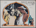 """Movie Posters:Adventure, The Son of the Sheik (United Artists, 1926). Lobby Card (11"""" X14""""). Adventure.. ..."""