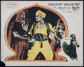 """Movie Posters:Adventure, The Son of the Sheik (United Artists, 1926). Lobby Card (11"""" X 14""""). Adventure.. ..."""