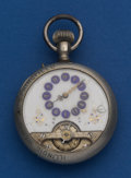 Timepieces:Pocket (post 1900), Swiss 8-Day Display Cases Pocket Watch. ...