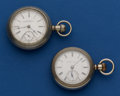 Timepieces:Pocket (post 1900), Two 18 Size Pocket Watches. ... (Total: 2 Items)
