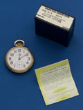 Timepieces:Pocket (post 1900), Hamilton 992 B Pocket Watch With Original Box. ...