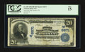National Bank Notes:Colorado, Paonia, CO - $20 1902 Plain Back Fr. 650 The First NB Ch. #(W)6671. ...