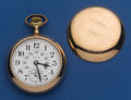 Timepieces:Pocket (post 1900), Elgin 18 Size 21 Jewel 3/4 Plate Pocket Watch. ...