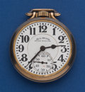 Timepieces:Pocket (post 1900), Illinois 23 Jewel Grade 163 - 60 Hour Bunn Special Pocket Watch....