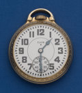 Timepieces:Pocket (post 1900), Elgin 23 Jewel B.W. Raymond Pocket Watch. ...