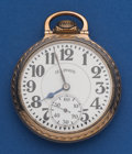 Timepieces:Pocket (post 1900), Illinois 21 Jewel 60 Hour Bunn Special Pocket Watch. ...