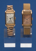 Timepieces:Wristwatch, Two Bulova Rose Gold Filled Wristwatches Runners. ... (Total: 2 Item)