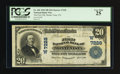 National Bank Notes:Colorado, Monte Vista, CO - $20 1902 Plain Back Fr. 650 The First NB Ch. #(W)7228. ...