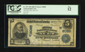 National Bank Notes:Colorado, Ault, CO - $5 1902 Date Back Fr. 591 The First NB Ch. # (W)8088....
