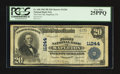 National Bank Notes:Pennsylvania, Mapleton, PA - $20 1902 Plain Back Fr. 658 The First NB Ch. # 11244. ...