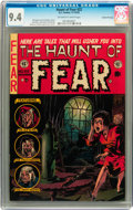 Golden Age (1938-1955):Horror, Haunt of Fear #22 Gaines File pedigree 6/12 (EC, 1953) CGC NM 9.4Off-white to white pages....