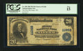 National Bank Notes:West Virginia, Iaeger, WV - $20 1902 Plain Back Fr. 658 The First NB Ch. # 11268....