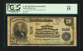 National Bank Notes:Kentucky, Mount Sterling, KY - $20 1902 Plain Back Fr. 660 The Traders NB Ch.# 6129. ...