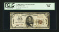 National Bank Notes:Wisconsin, Hurley, WI - $5 1929 Ty. 1 The Hurley NB Ch. # 11594. ...