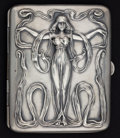 Silver Smalls:Match Safes, A BLACKINTON SILVER AND SILVER GILT CIGARETTE CASE . R. Blackinton& Co., North Attleboro, Massachusetts, circa 1890. Marks:...