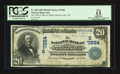 National Bank Notes:Kentucky, Barbourville, KY - $20 1902 Plain Back Fr. 650 The NB of John A.Black of Barbourville Ch. # (S)7284. ...