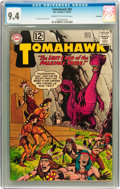 Silver Age (1956-1969):Adventure, Tomahawk #82 Savannah pedigree (DC, 1962) CGC NM 9.4 Cream to off-white pages....