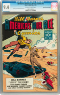 Golden Age (1938-1955):War, Bill Barnes Comics #5 Mile High pedigree (Street & Smith, 1941) CGC NM 9.4 Off-white to white pages....
