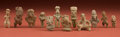Pre-Columbian:Ceramics, A Collection of Twelve Miniatures... (Total: 12 Items)