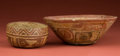 American Indian Art:Pottery, Michoacan and Nayarit Offering Bowls... (Total: 2 Items)