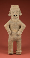 American Indian Art:Pottery, Large Postclassic Effigy Statue...