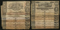 Confederate Notes:1862 Issues, $10 1862; 1863; and 1864 Rebel Notes.. ... (Total: 16 notes)