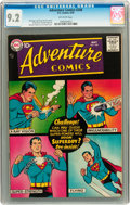 Silver Age (1956-1969):Superhero, Adventure Comics #248 (DC, 1958) CGC NM- 9.2 Off-white pages....