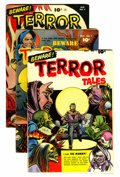 Golden Age (1938-1955):Horror, Beware Terror Tales Group (Fawcett, 1952-53).... (Total: 6 ComicBooks)