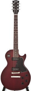 Musical Instruments:Electric Guitars, 1991 Gibson Les Paul Special Cherry Solid Body Electric Guitar,#92121494....