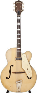 Musical Instruments:Electric Guitars, 1956 Gretsch 6199 Cream Archtop Electric Guitar, #19570....