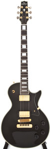 Musical Instruments:Electric Guitars, 1990 Heritage H-157 Black Solid Body Electric Guitar, #I26803....