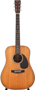Musical Instruments:Acoustic Guitars, 1949 Martin D-28 Natural Acoustic Guitar, #109215....