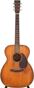 Musical Instruments:Acoustic Guitars, 1954 Martin 000-18 Natural Acoustic Guitar, #136560....