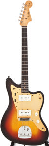 Musical Instruments:Electric Guitars, 1959 Fender Jazzmaster Sunburst Solid Body Electric Guitar,#33794....
