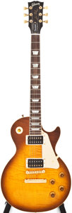 Musical Instruments:Electric Guitars, 1996 Gibson Les Paul Standard Sunburst Solid Body Electric Guitar,#90026308....