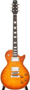 Musical Instruments:Electric Guitars, 1994 Heritage H-150CM Cherry Sunburst Solid Body Electric Guitar,#K13612....