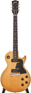 Musical Instruments:Electric Guitars, 1955 Gibson Les Paul Special Blonde Solid Body Electric Guitar,#511678....