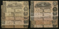 Confederate Notes:1862 Issues, Confederate $5's Good or Better.. ... (Total: 10 notes)