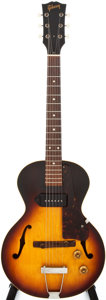 Musical Instruments:Electric Guitars, 1959 Gibson ES-125 3/4 Sunburst Semi-Hollow Body Electric Guitar, #S880621....