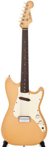 Musical Instruments:Electric Guitars, 1959-60 Fender Musicmaster Desert Sand Solid Body Electric Guitar,#44742....