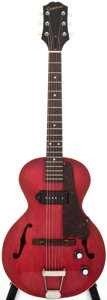 Musical Instruments:Electric Guitars, 1961 Epiphone Century E-422T 3/4 Cherry Archtop Electric Guitar,#19114....