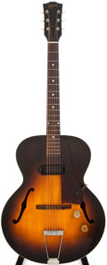 Musical Instruments:Acoustic Guitars, 1950 Gibson ES-125 Sunburst Archtop Electric Guitar, #4374....