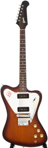 Musical Instruments:Electric Guitars, 1965 Gibson Firebird I Sunburst Solid Body Electric Guitar,#503925....