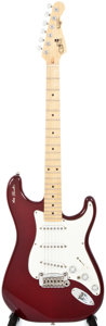 Musical Instruments:Electric Guitars, 1980s G&L S-500 See-Thru Red Solid Body Electric Guitar,#0017255....