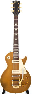 Musical Instruments:Electric Guitars, 1956 Gibson Les Paul Goldtop Solid Body Electric Guitar, #68160....