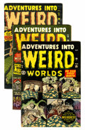 Golden Age (1938-1955):Horror, Adventures Into Weird Worlds Group (Atlas, 1952-53).... (Total: 11Comic Books)