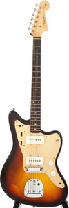 Musical Instruments:Electric Guitars, 1958/1959 Fender Jazzmaster Sunburst Solid Body Electric Guitar,#36293....
