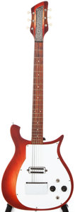 Musical Instruments:Electric Guitars, 1961 Rickenbacker Combo 420 Fireglo Solid Body Electric Guitar, #AA18....